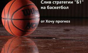 Стратегия Б1 на баскетбол от хочу прогноз