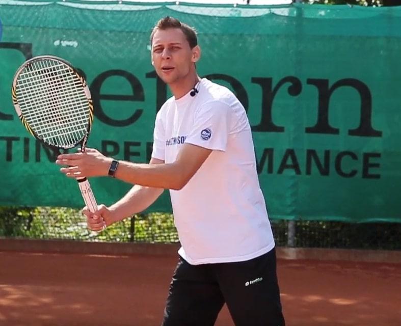 Форхенд в теннисе